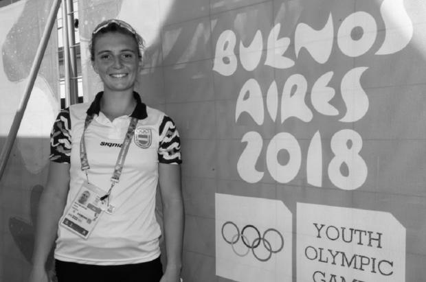 Maria Sol Ordaz, ganadora de la primera medalla de oro en los YOG..jpg