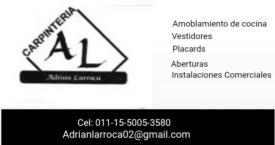 Carpinteria Larroca