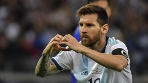Lionel Messi, capitán de la Selección. Foto: Agencia Télam.
